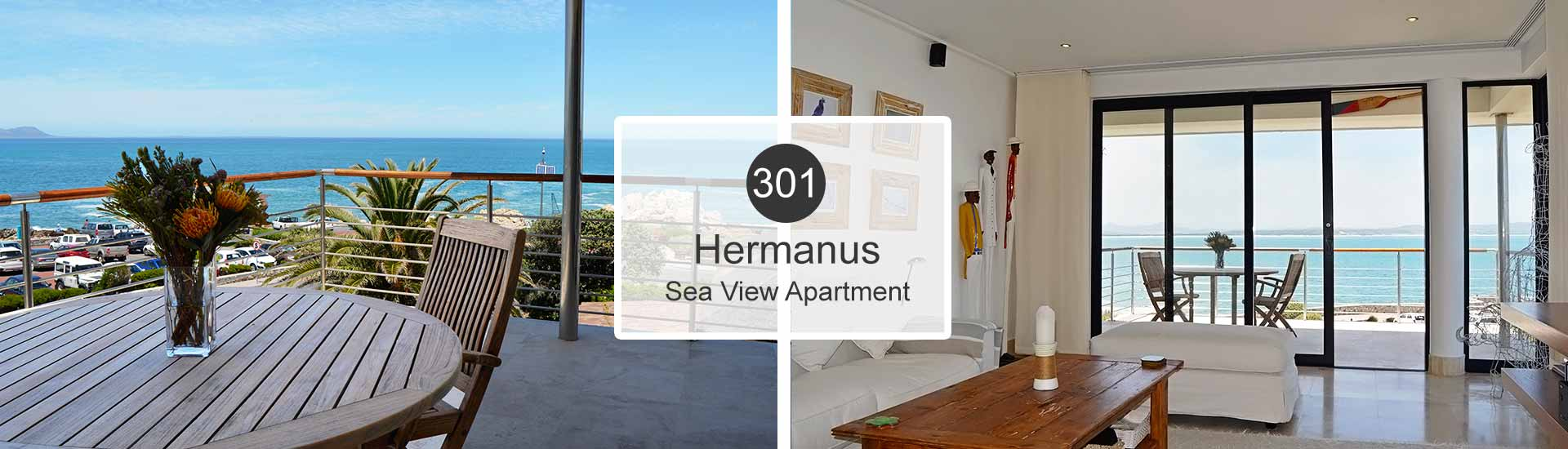 Hermanus Self Catering Accommodation - Sea View Apartment